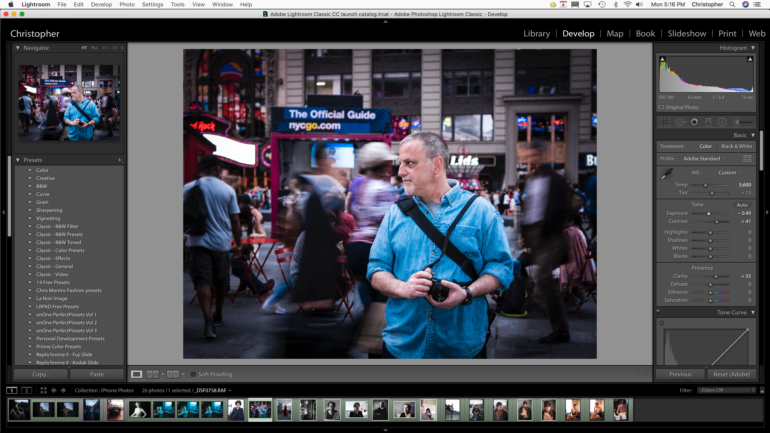 First Impressions Review: Adobe Lightroom Classic CC April 2018 Update