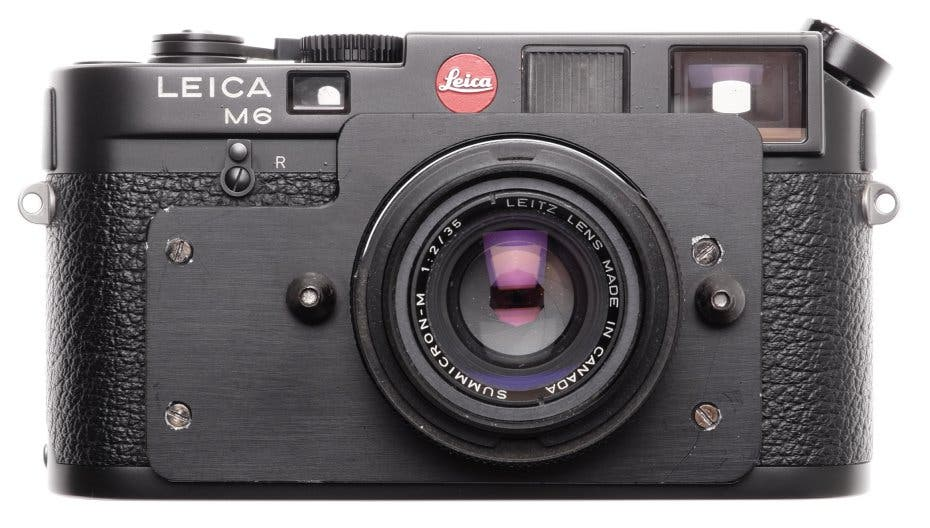 This $10,000 Leica M6 is Most Likely Something You Haven't Seen Before