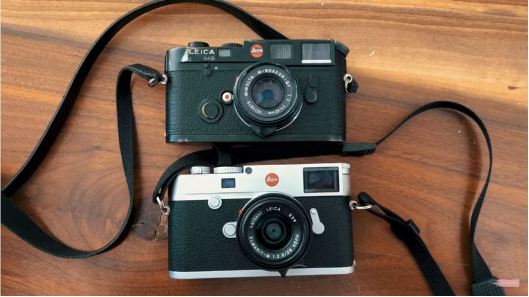 Can We Guess Which is Better? Leica M10 vs Leica M6