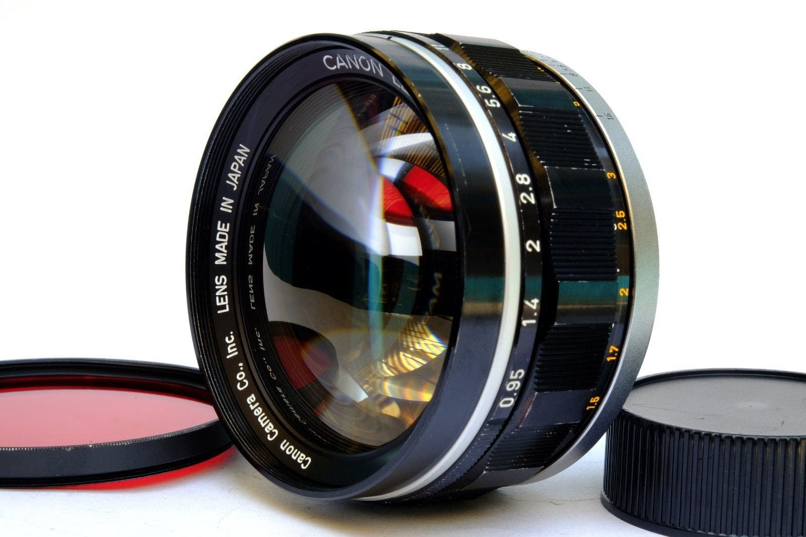 If You Buy This Canon 50mm f0.95 on eBay, Know That It's Stolen