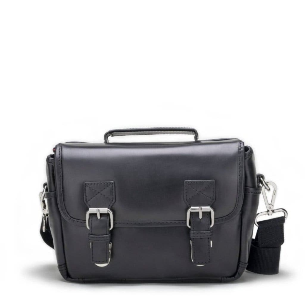 The BlackForest K2 is a Stylish Mini Messenger Bag for the Compact Shooter