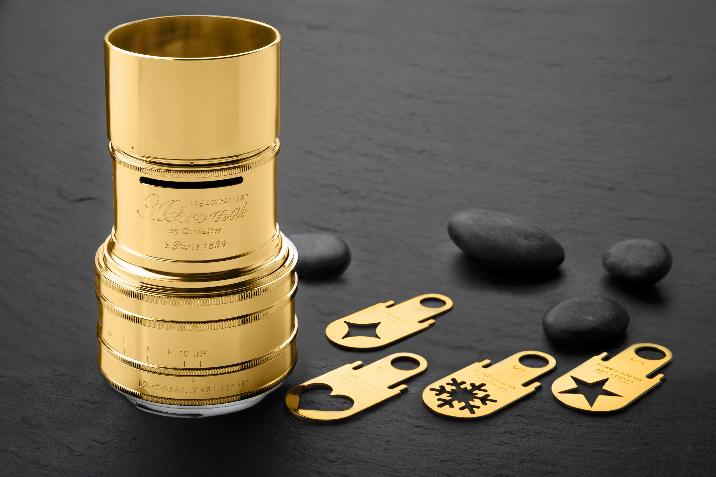 Lomography Daguerreotype Achromat Lens Now Comes in a Gold-Plated Edition