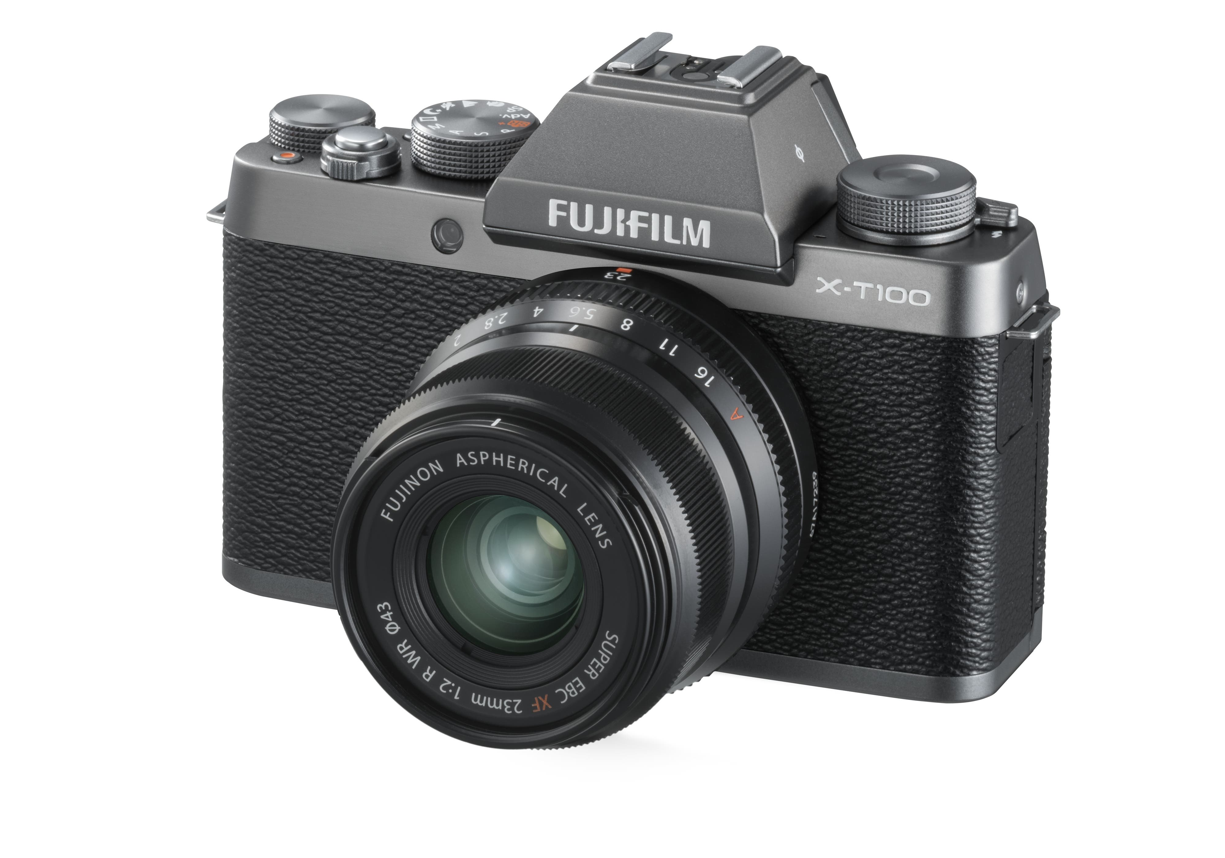 The New Fujifilm X T100 Comes In Gold For Some Reason