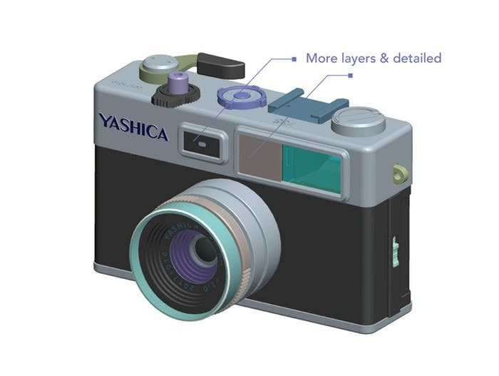 The Yashica digiFilm Y35 Camera Gets Final Design Tweaks