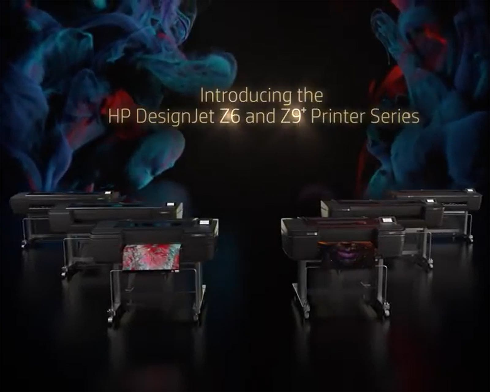 HP's Z Series Large Format Printers Unveiled in Germany