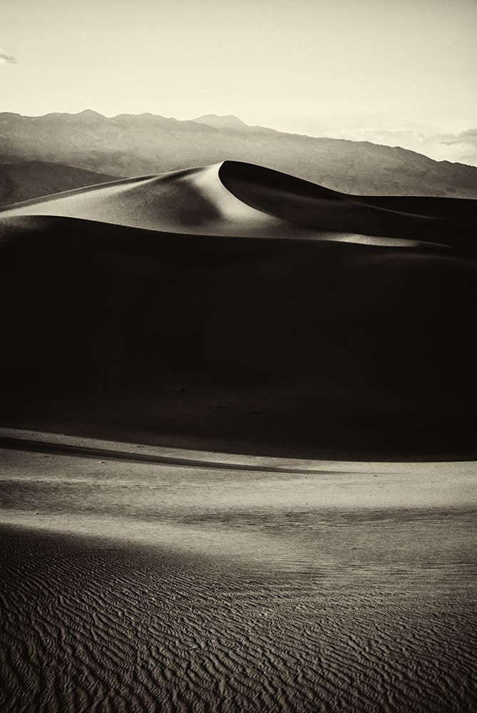 James Lattanzio's Black and White Landscapes Work in Layers
