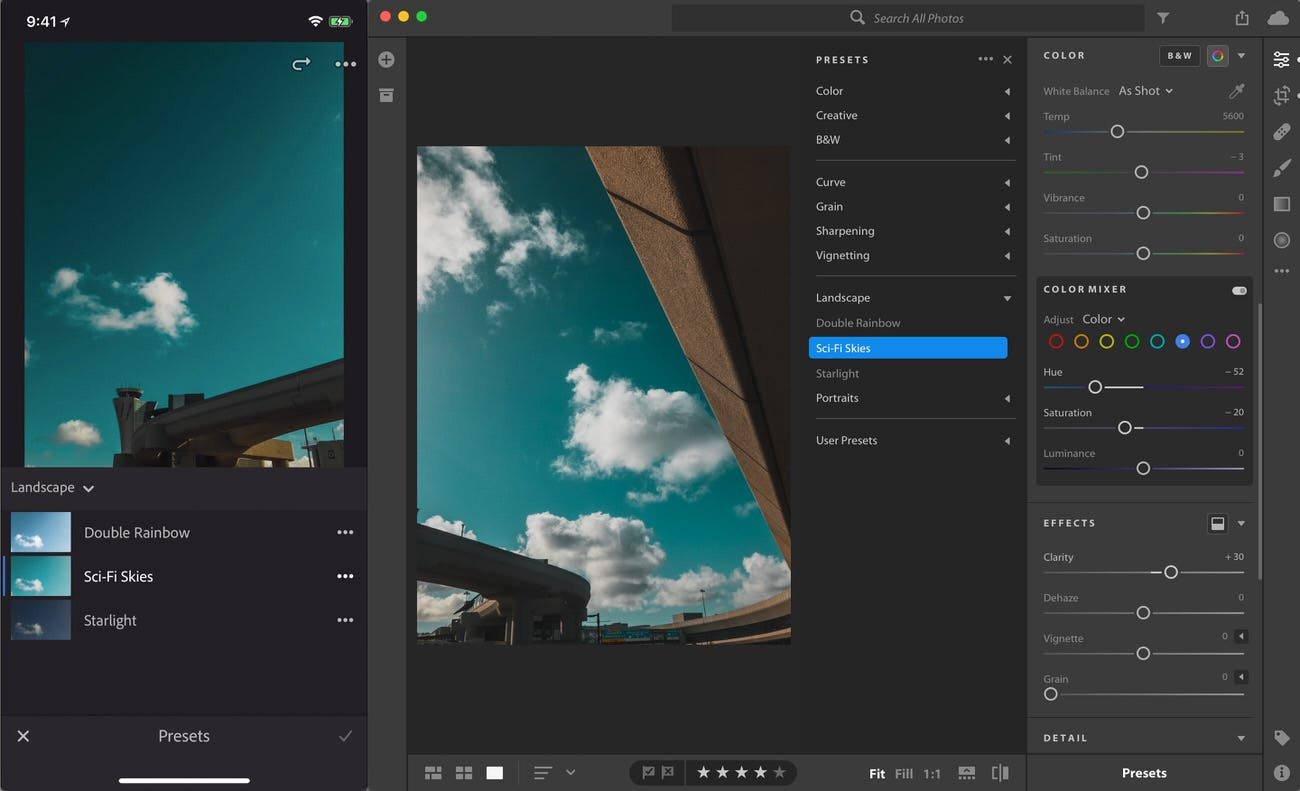 Adobe Lightroom Is Finally Letting You Sync Your Presets Cross-Platform