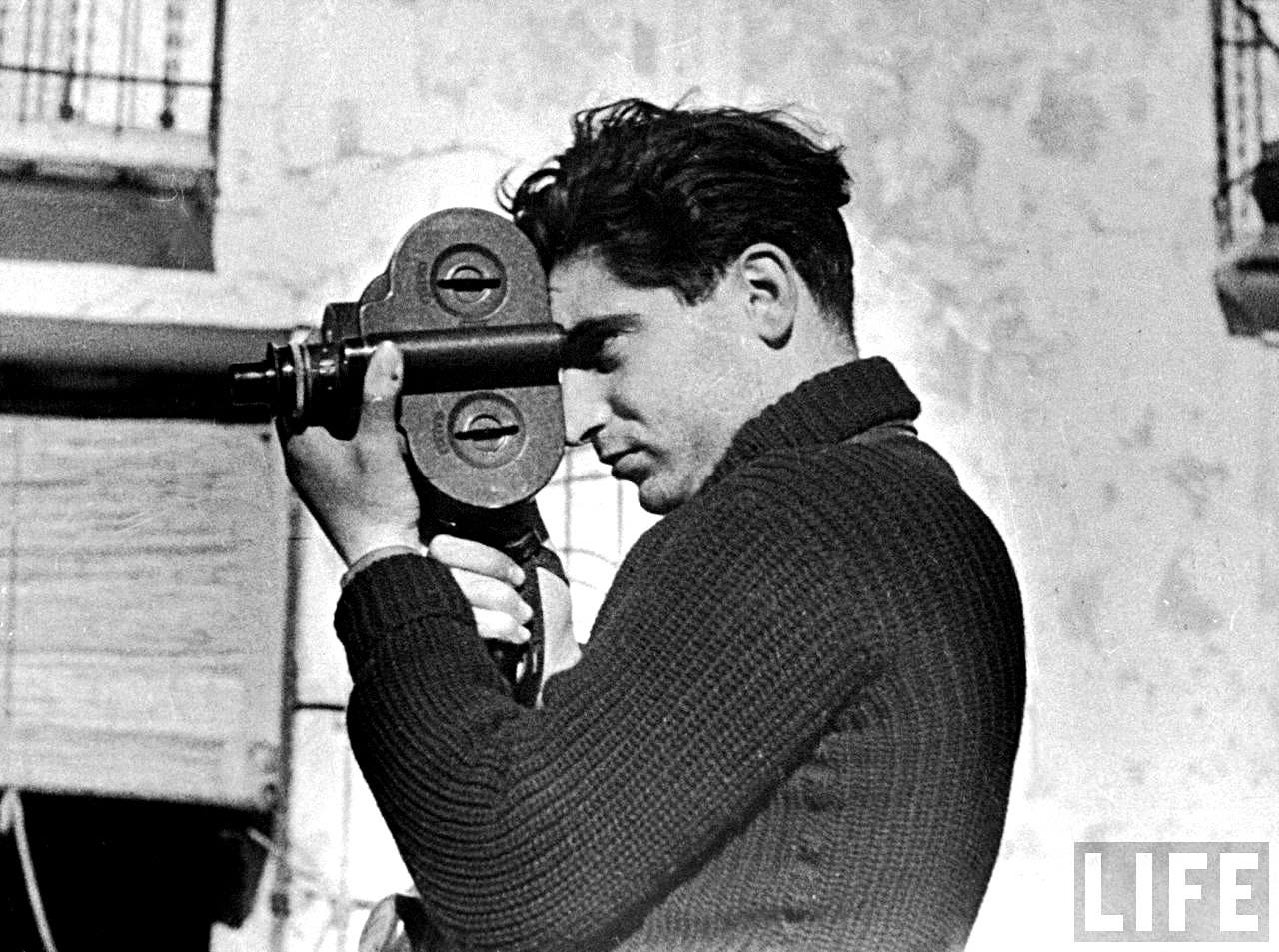 This Interview Is the Only Known Recording of Robert Capa
