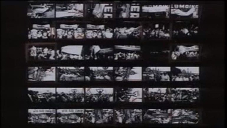 Master Photographer William Klein Tells The Story Behind Photos On His Contact Sheet