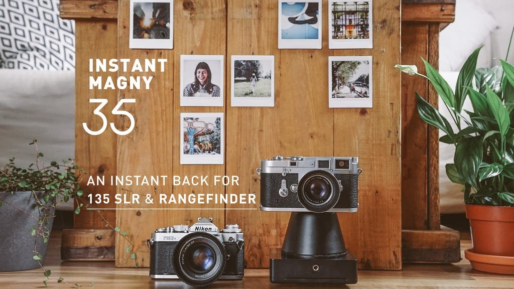 The Instant Magny 35 Turns Your SLR and Rangefinder into an Instant Camera
