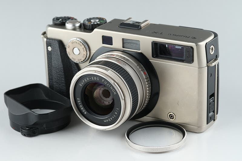 This Gorgeous Silver Fujifilm TX-1 Rangefinder is Your Not-So-Secret Hasselblad XPan