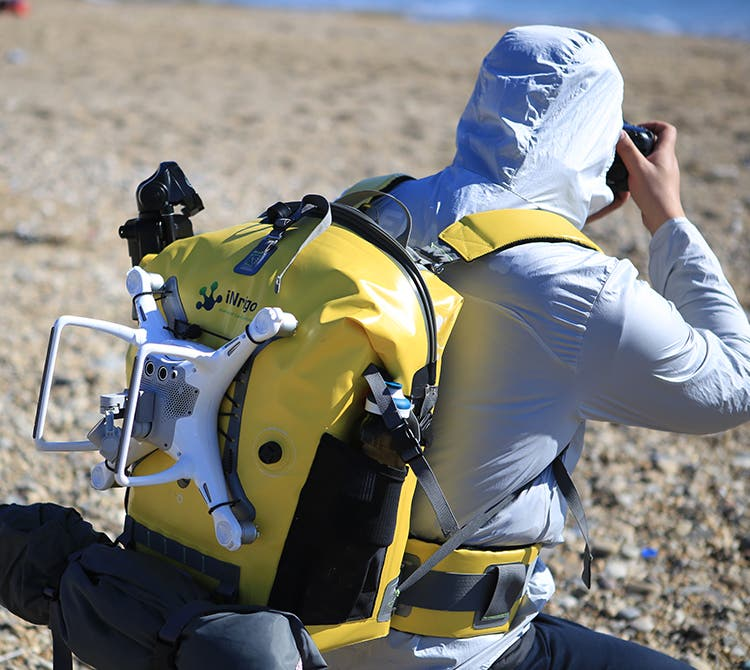 The Inrigo Is a Smart, Waterpoof Backpack for Your Camera and Gear