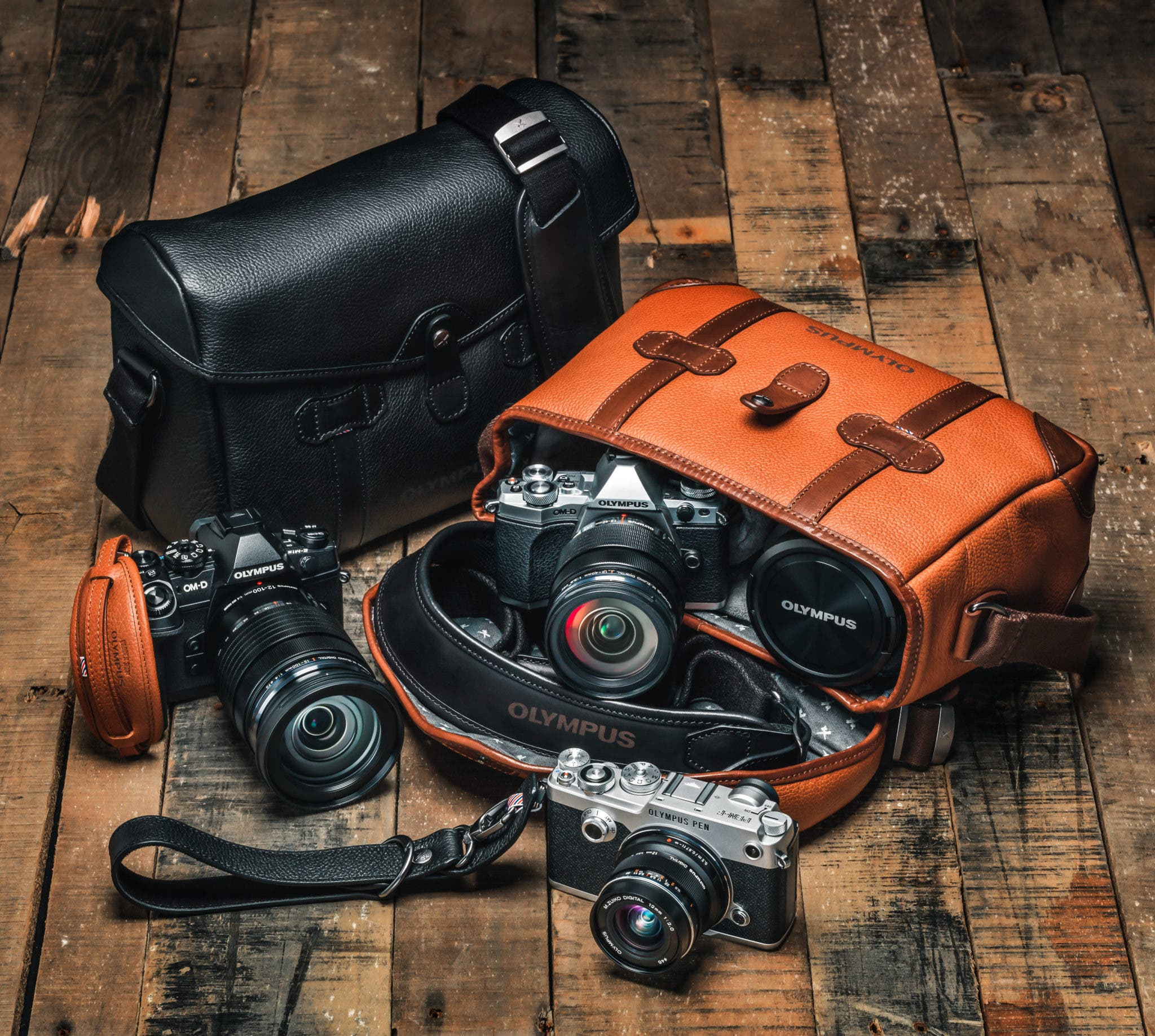 Olympus Releases Premium Handcrafted Camera Bags and Straps in Partnership with Barber Shop Bags