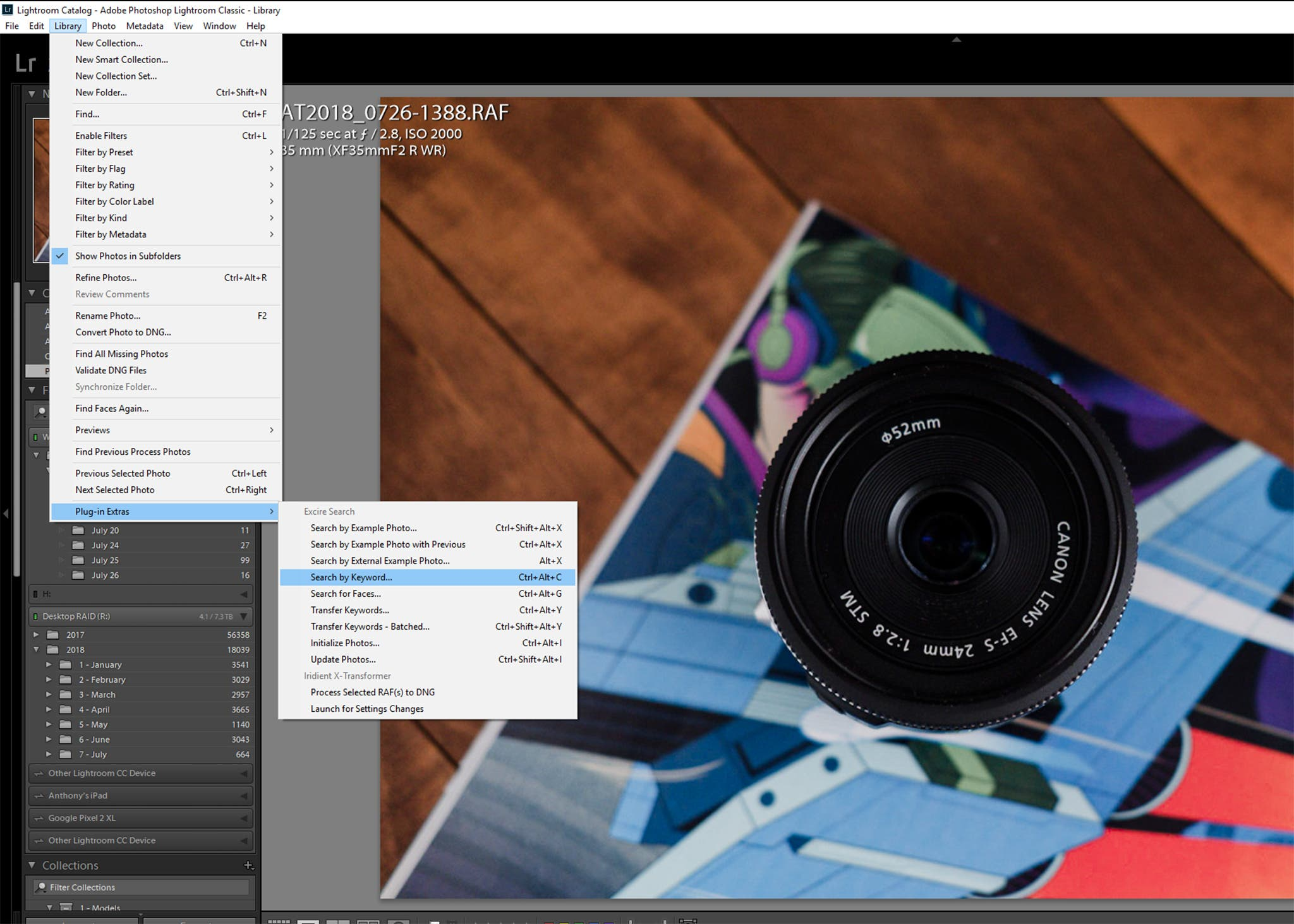 Review: Excire Search Plugin for Lightroom CC Classic (AI
