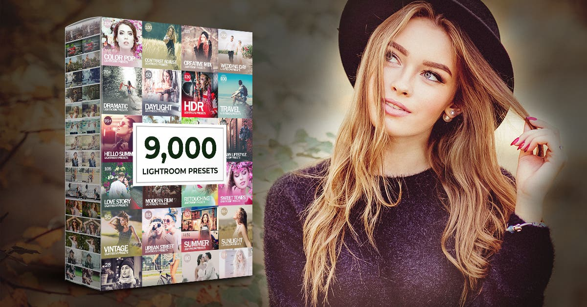 Cheap Photo: 9,000 Lightroom Preset Bundle for Under $40