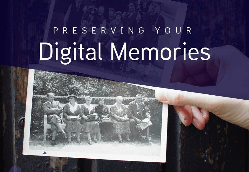 This Detailed Infographic Encourages Us to Preserve Our Digital Memories
