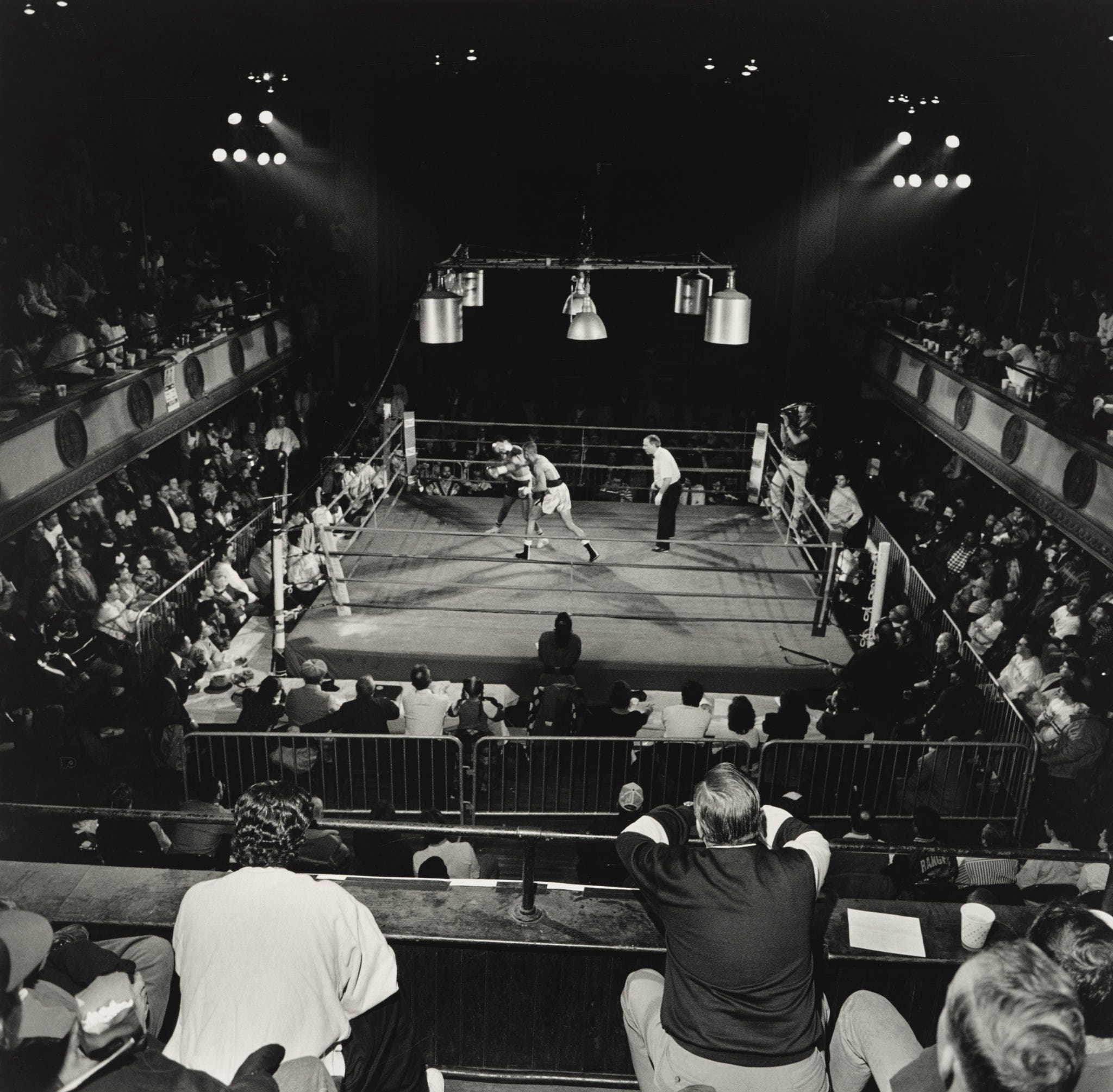 Larry Fink Exhibit Unravels the Drama In and Out of the Boxing Ring