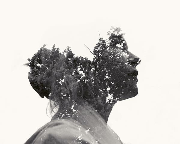 These Stunning Double Exposure Portraits by Christoffer Relander Were Done in Camera