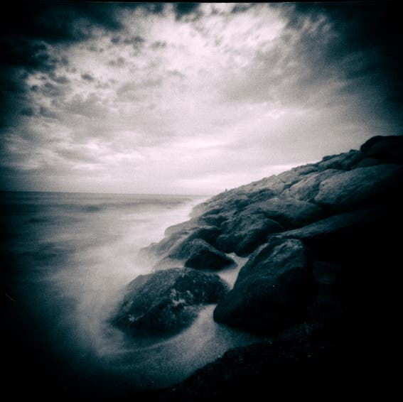 David Cordero's Hauntingly Serene Seaside Pinhole Photography