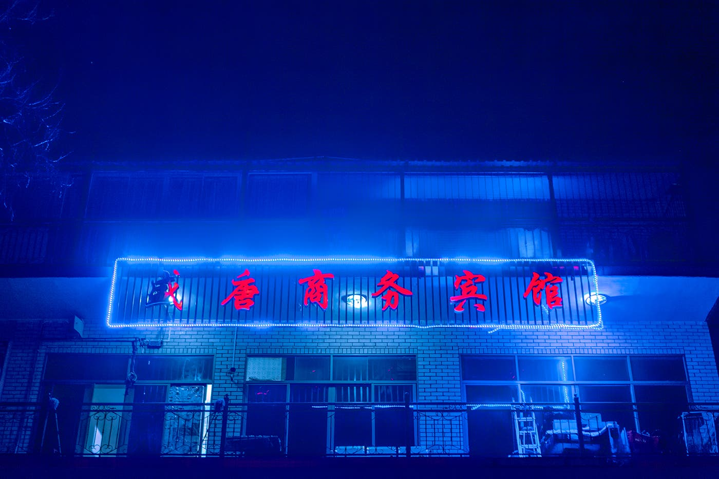 "Elsa Bleda's ""Chinatown"" Glows an Eerie Neon at Midnight"