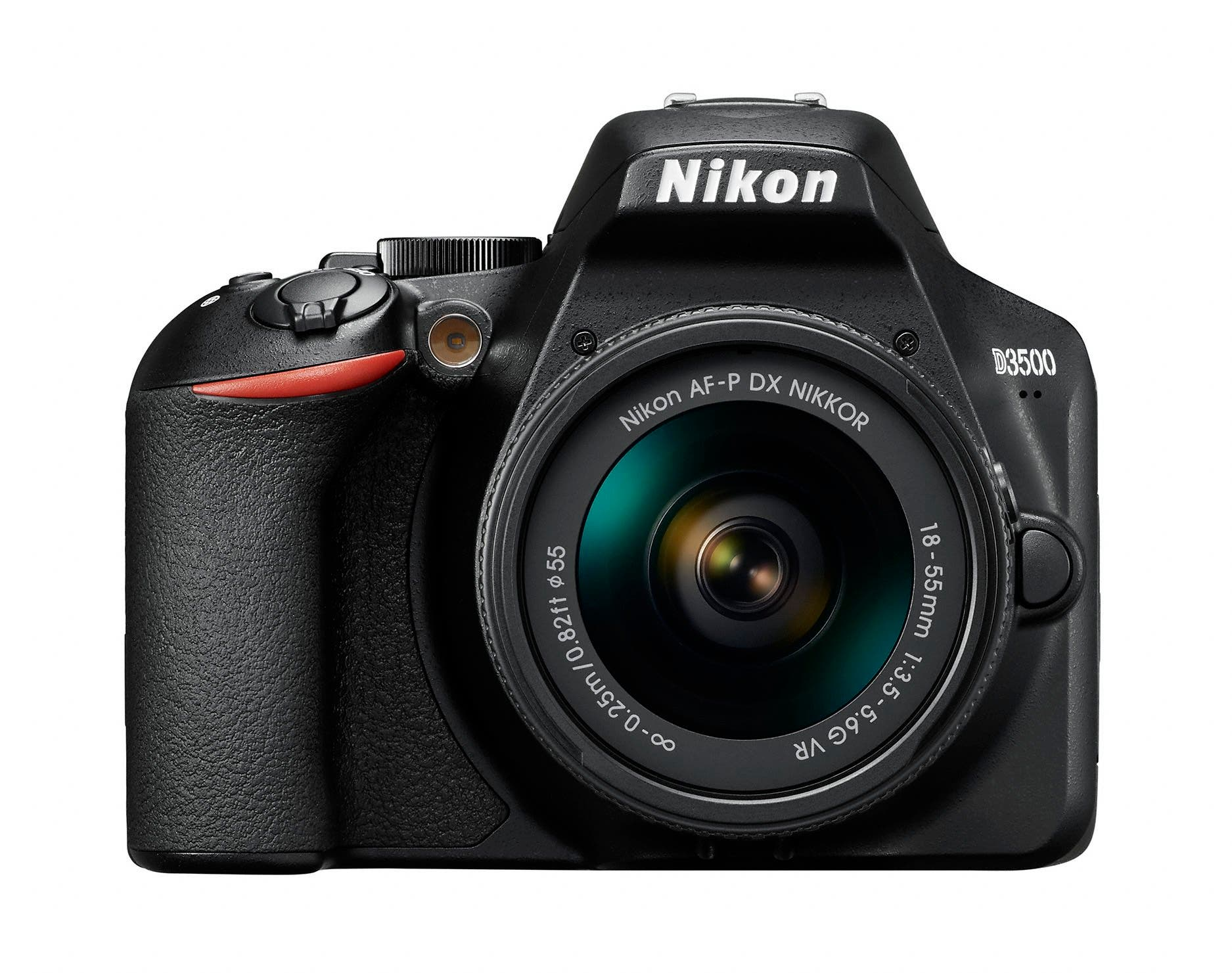 The New Nikon D3500 has a Battery Life Rating of 1,550 Shots
