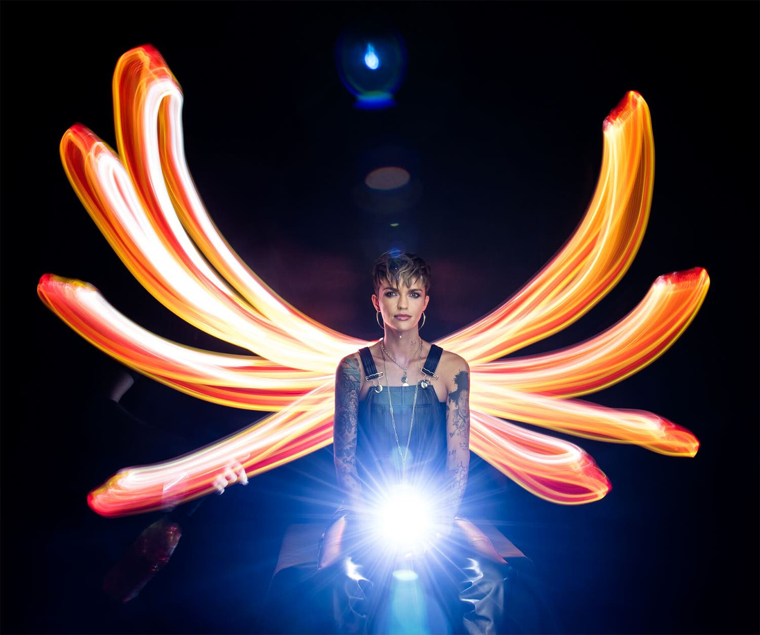 These Light Painting Portraits from Jason Page Are for iHeartRadio