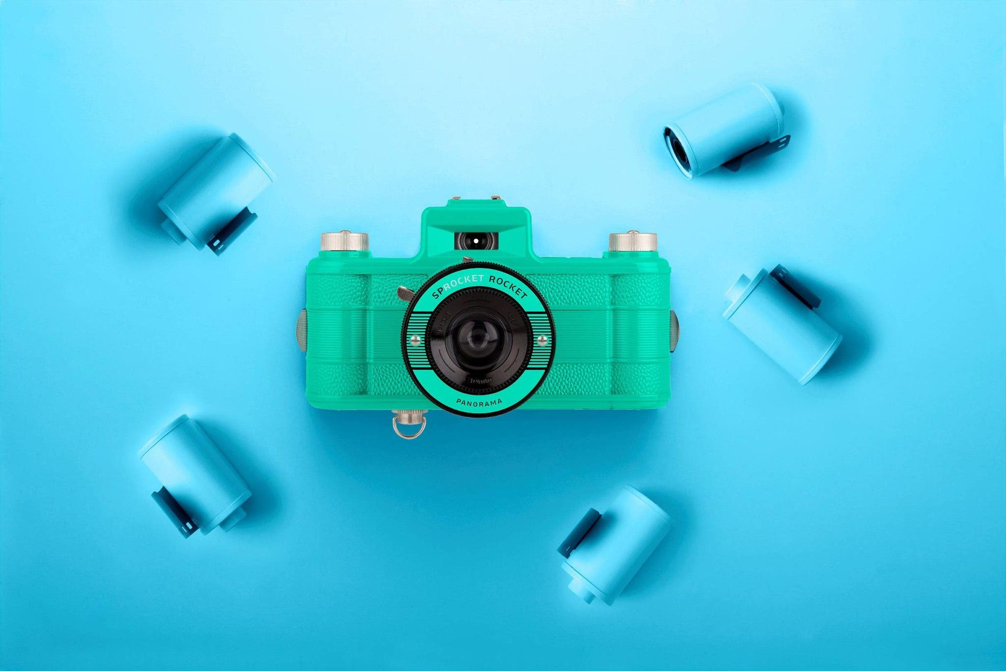 The Lomography Sprocket Rocket Teal 2.0 Is Pretty Much the Same Camera as Before