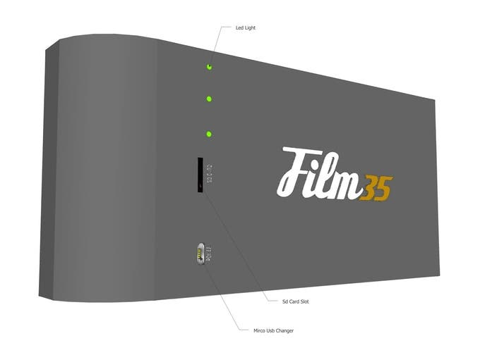 Film35 is Another Digi-FIlm Concept for Converting Film Cameras to Digital