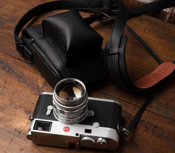 Drool Over These Gorgeous Holster Cases for Leica M and CL Cameras