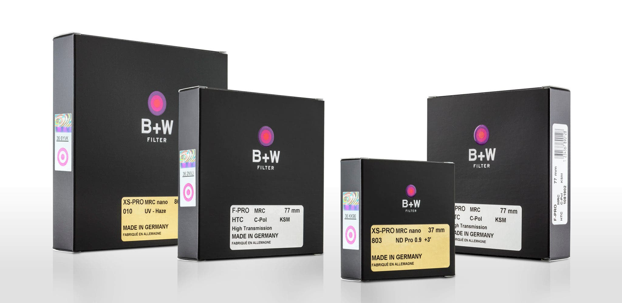 B+W Filters is Showing off Their New Packaging at Photokina