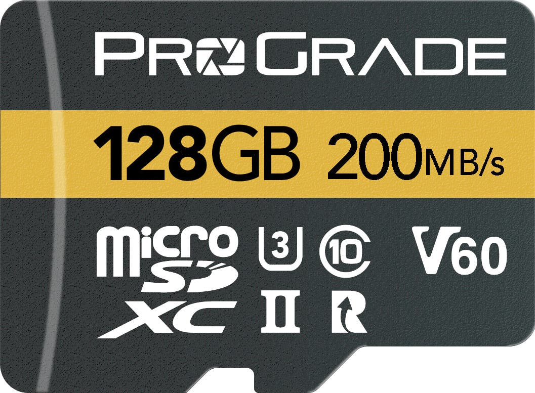 These New ProGrade Digital MICRO SDXC UHS-II Cards Hold 128GB of Photos