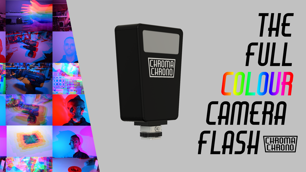 The Chroma Chrono Flash is for Photographers Who Love Flash and Color