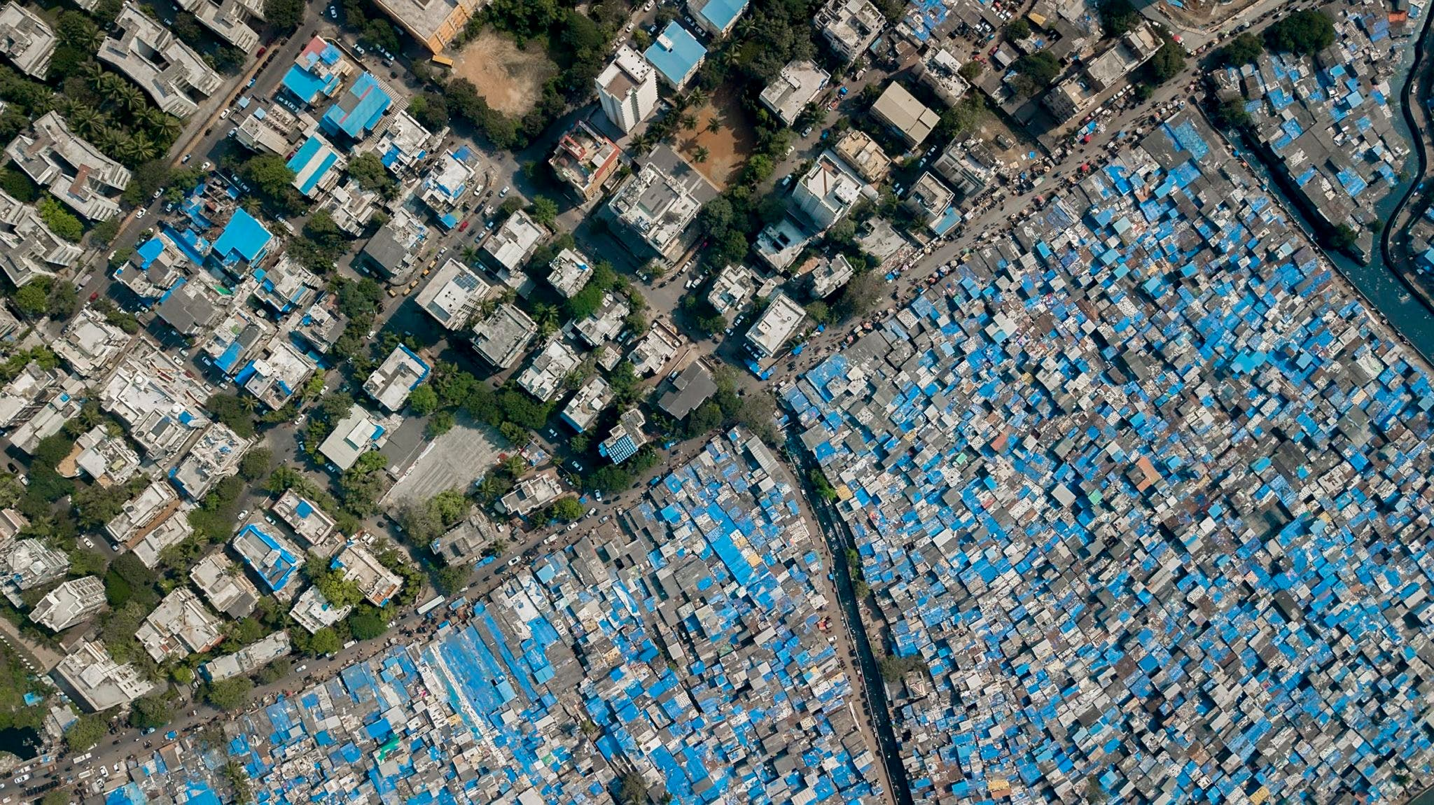 Johnny Miller Presents a Bird's Eye View of Social Inequality Across the Globe