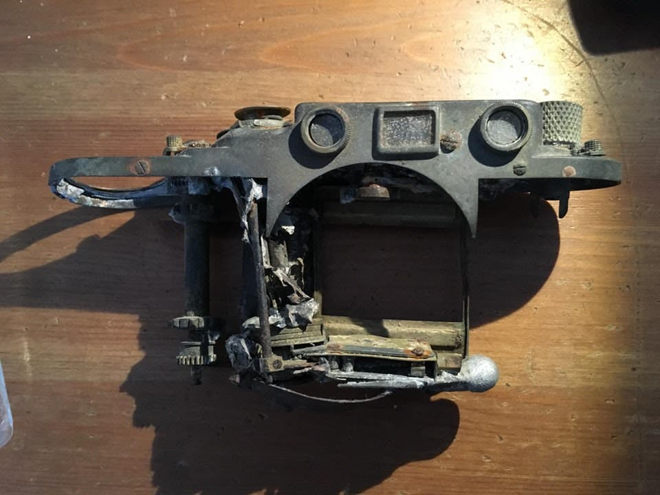 What Happened to This Badly Burned Leica Camera?