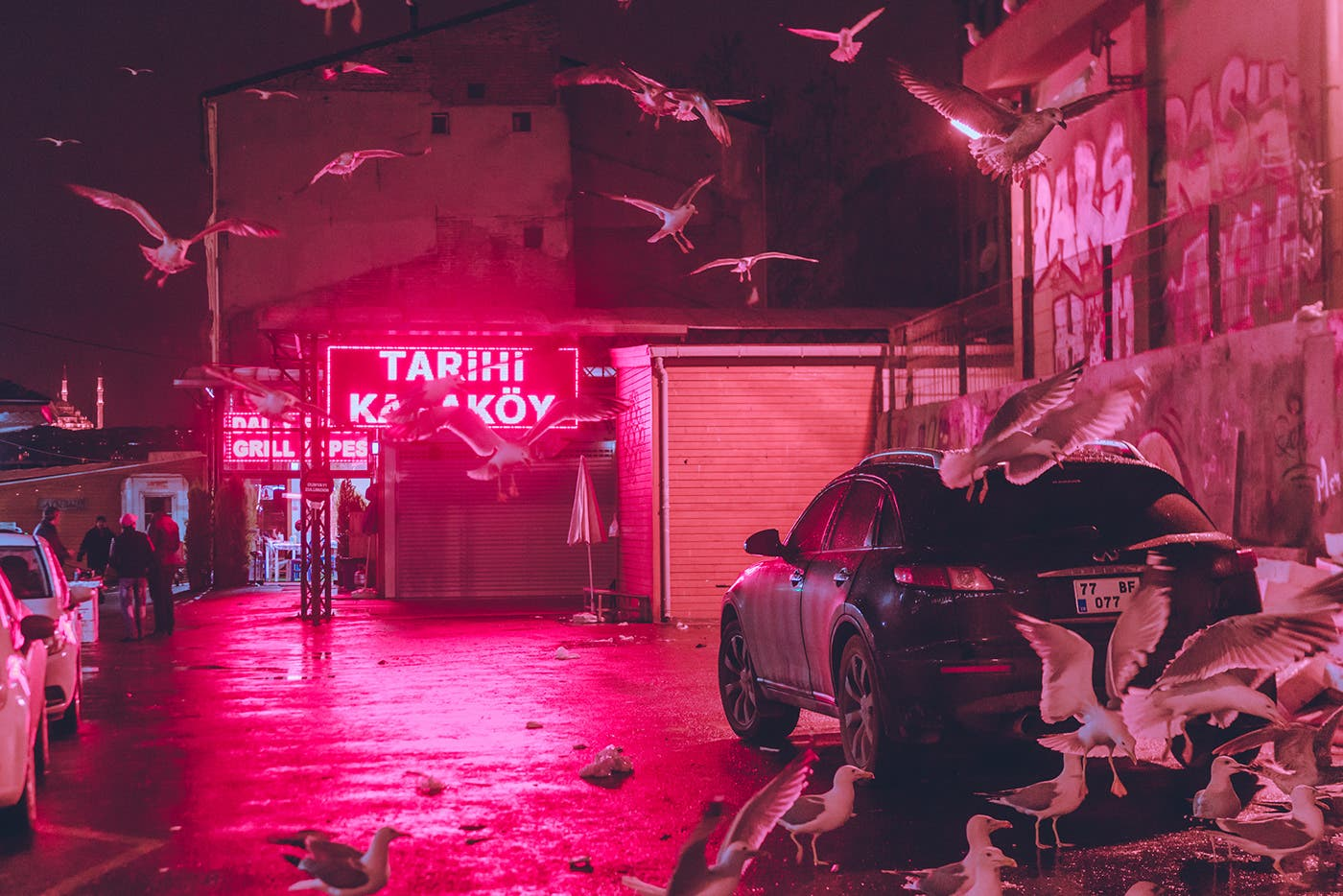 "Elsa Bleda Captures Neon-Lit Istanbul in ""Mirror World / Istanbul"""