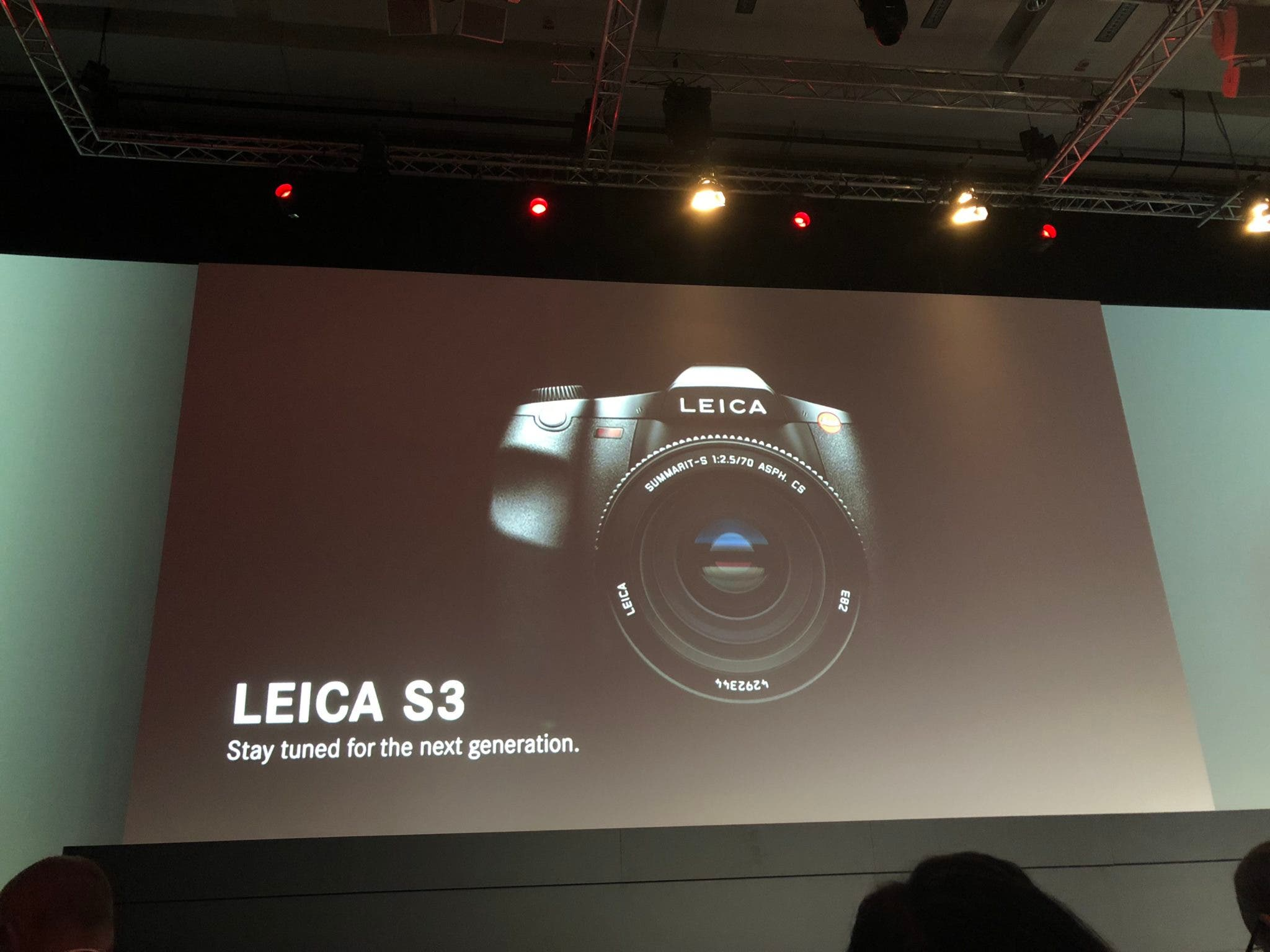 The Leica S3 is the Company's Latest Medium Format Camera