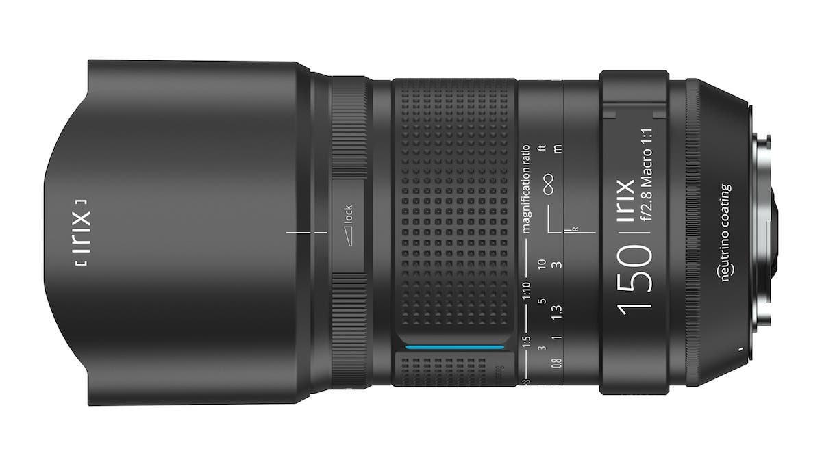 The Weather Sealed IRIX 150mm f2.8 Macro Lens Has 11 Aperture Blades