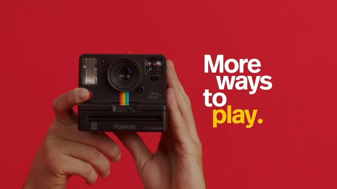 Polaroid Originals Makes Instant Photography Extra Creative with OneStep+ and App