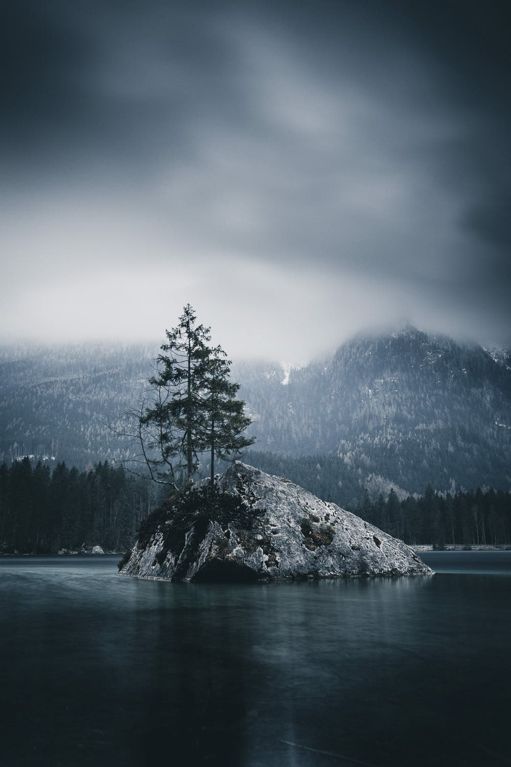 Nils Leithold Takes Moody, Cinematic Images of the Alps