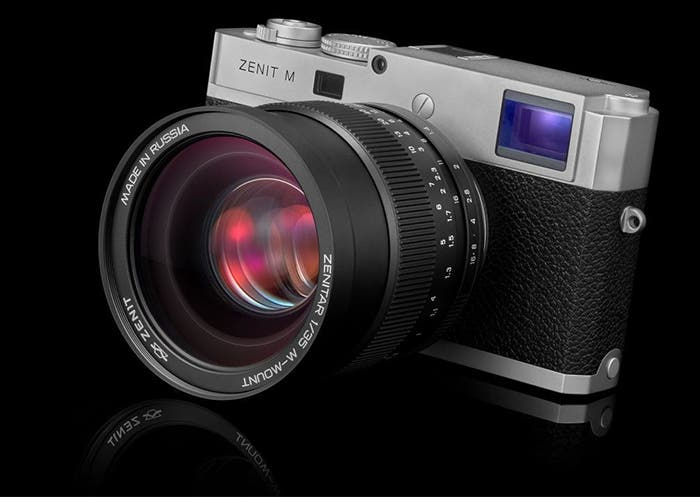 Zenit and Leica Collaborate on Zenit M Digital Rangefinder Camera