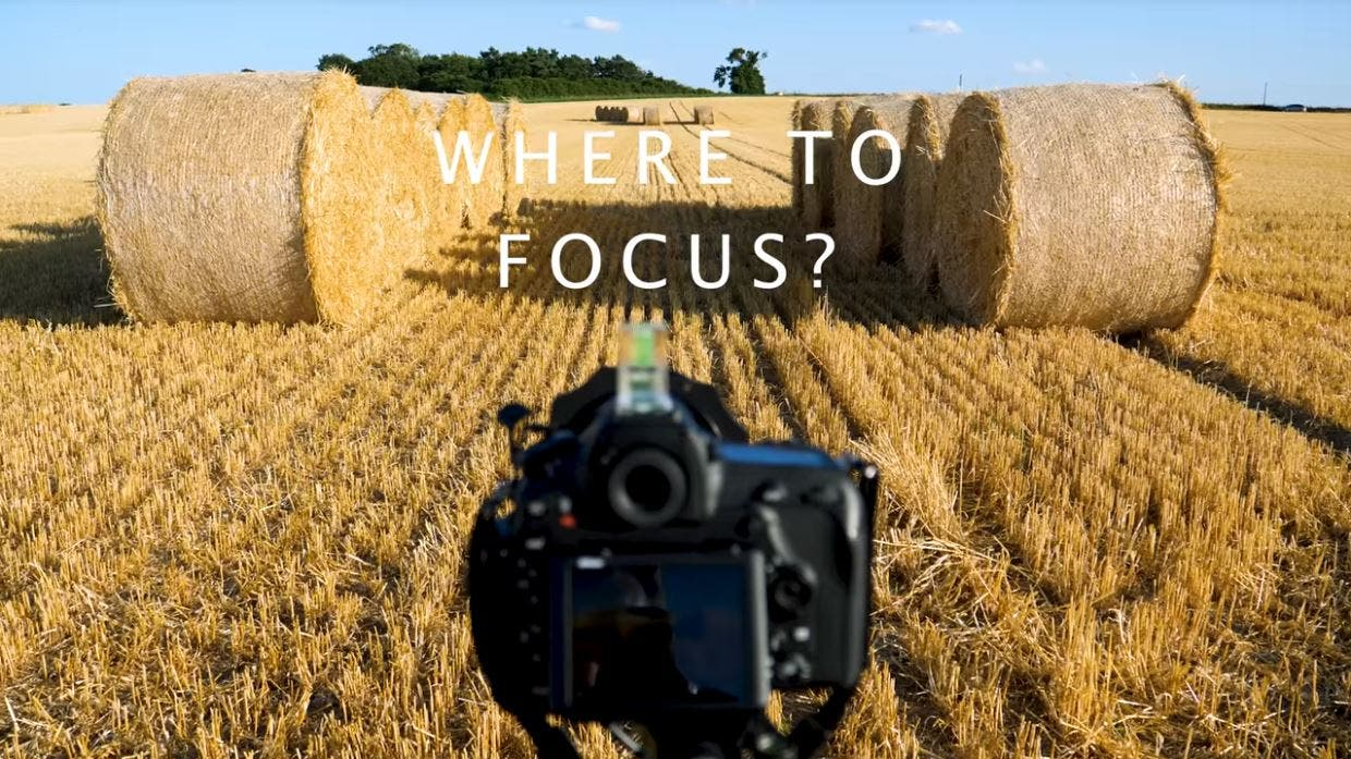 Where to Focus When Shooting Landscape Photography