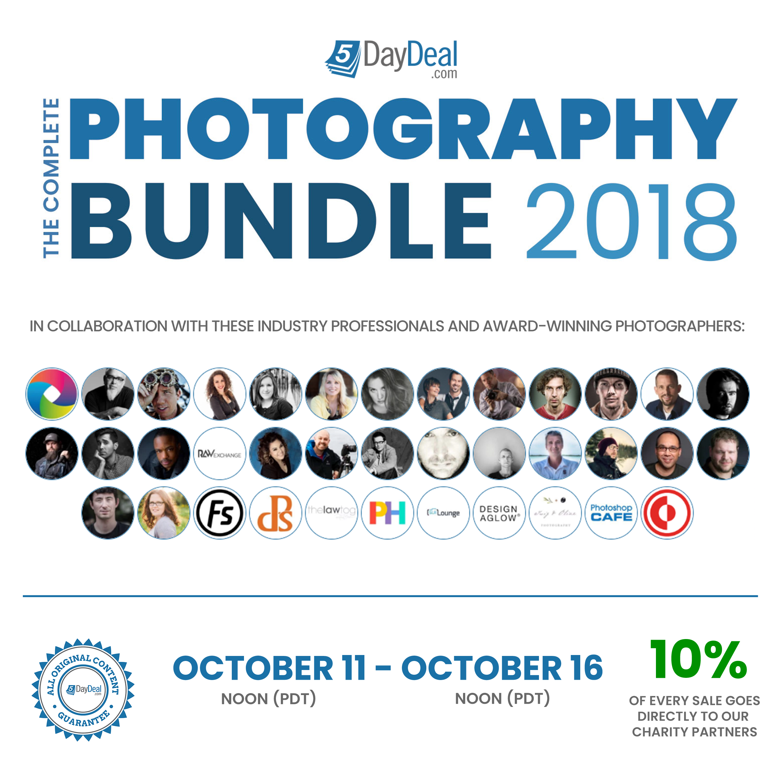 Cheap Photo: Save $2,582 When You Purchase the Complete Photography Bundle for Just $89