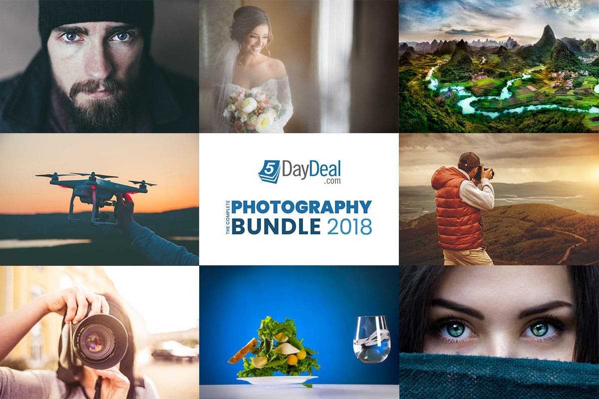 Cheap Photo: Learn from the Masters and Save Over $2,500 on the Complete Photography Bundle 2018