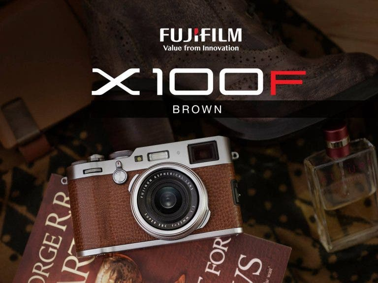 Here's Your Chance to Snag the Gorgeous Brown Fujifilm X100F!