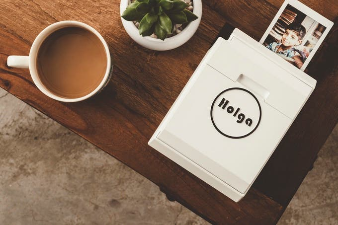 The Holga Printer Will Turn Your Mobile Snapshots Into Instant Pictures