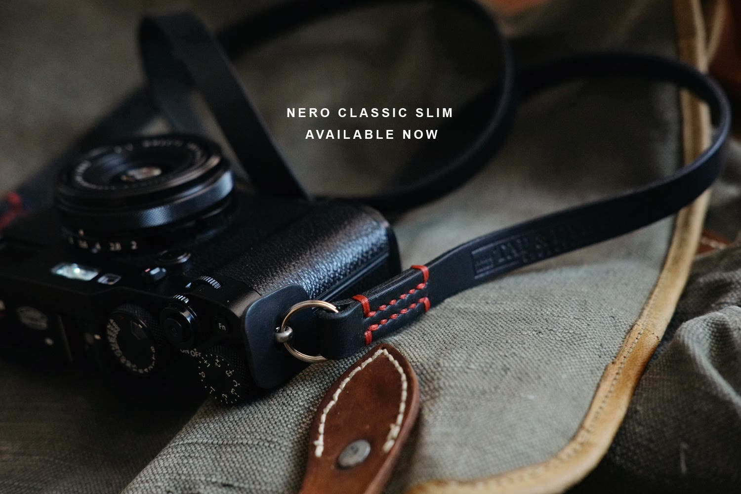 TAP and DYE Adds Nero Slim to the Legacy Camera Strap Line