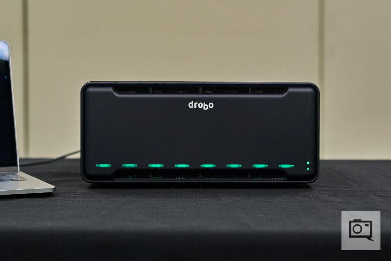 New Drobo 8D Includes Thunderbolt 3 And Intelligent Volume Management