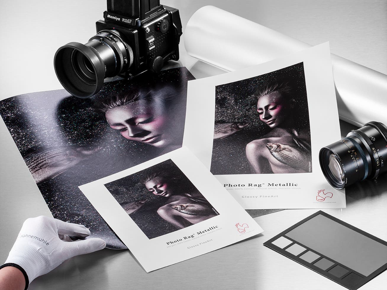 Hahnemühle Brings a Shimmering Look to Art Prints with New Photo Rag® Metallic