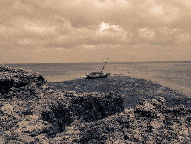 East Africa Inspires Šuns Akis to Tell the Story of A Fisherman's Secret