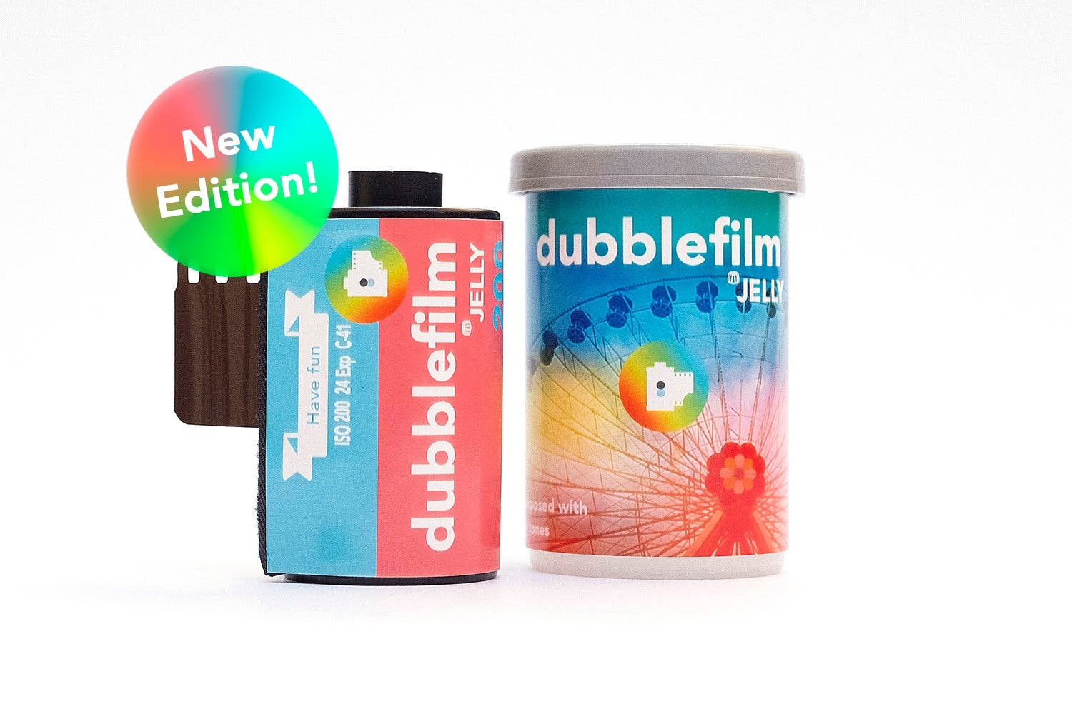 Dubble Celebrates First Birthday With the Super Colorful JELLY 35mm Film Emulsion